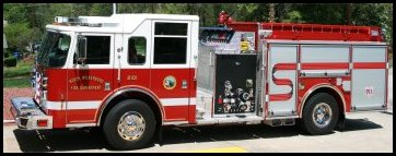 North Wilkesboro Fire Department 2013 Pierce Saber Pumper - Engine 2101