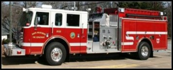 North Wilkesboro Fire Department 2005 Pierce Dash Pumper - Engine 2102