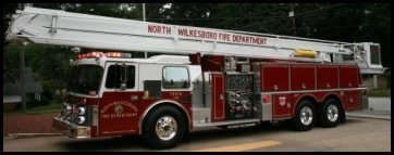 North Wilkesboro Fire Department 1988 Grumman 85' Aerial - Aerial 2105
