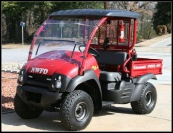 North Wilkesboro Fire Department 2007 Kawasaki Mule - Multi-purpose Vehicle 2119
